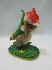 Fitz & Floyd Charming Tails Figurine I Picked This For You 98/197 1997 Event