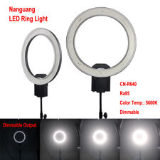 Nanguang CN-R640 LED Ring Light CRI 95 5600K for Photography Video Makeup Beauty