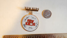 Vintage NKOTB  PIN      New Kids Memorabilia NEW KIDS ON BLOCK ENAMEL PIN