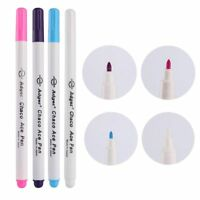 4 Pcs Soluble Cross Stitch Water Erasable Pens Grommet Ink Fabric Marker Pens