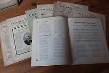 LOT Revue LE CAVEAU STEPHANOIS - Union poétique du FOREZ - Chansons, poèmes 1913
