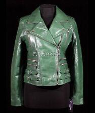 Cappotti e giacche da donna verde in pelle Taglia 48