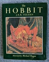 The Hobbit by J. R. R. Tolkien (1984, Green Hardcover) English 1st edition