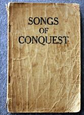 SONGS OF CONQUEST Religious HYMNAL Gospel HYMNS Religion CHURCH Sunday School