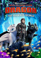 How To Train Your Dragon 3 The Hidden World DVD + Digital With Bonus Features