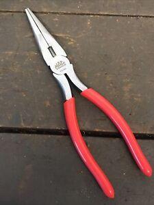 "Mac Tools 8"" Long Nose / Snipe Nose Pliers P8LNA. Unused"