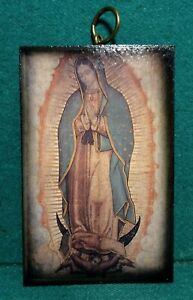 OUR LADY OF GUADALUPE WALL PLAQUE 93x146mm