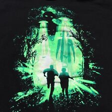 The X-Files Mens Size Large T-Shirt Tee Shirt TV Show Movie UFO X Files FBI