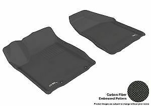 3D MAXpider for 2003-2007 Nissan Murano Kagu 1st Row Floormat - Black - aceL1NS0
