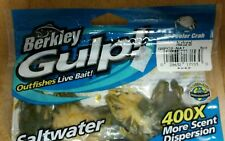"BERKLEY #GSPC2-NAT GULP 2"" PEELER CRAB NATURAL 5Ct OUT FISHES LIVE BAIT 100% BIO"