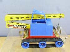 "VINTAGE TINPLATE / PLASTIC TRI-ANG MODEL No.XX  "" HIGH LIFT""  CRAWLER CRANE"