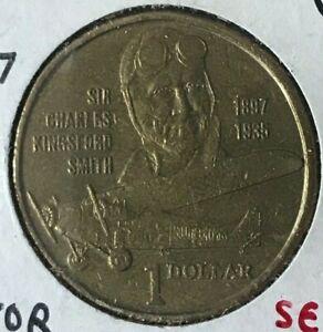 1997 Australia 1 One Dollar - Aviator Commemorative - Scarce