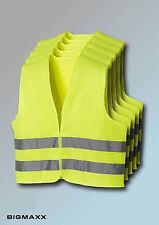5 Stück teXXor Warnweste Sicherheitswarnweste gem EN 471 gelb leuchtgelb