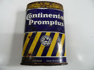 alte originale Continental Promptus Flickzeugdose Zubehör Oldtimer