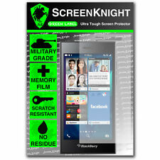 ScreenKnight BlackBerry Leap SCREEN PROTECTOR invisible Military shield