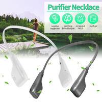 Portable USB Neck Hanging Air Purifier Mini Personal Negative Ion Generator