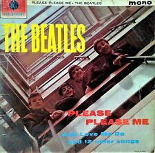 THE BEATLES~PLEASE PLEASE ME~PMC 1202~MONO~K/T STAMP ON LABEL~1963 UK VINYL LP