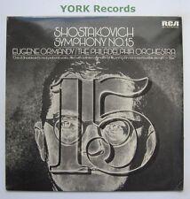 ARL1 0014 - SHOSTAKOVICH - Symphony No 15 ORMANDY Philadelphia Or - Ex LP Record