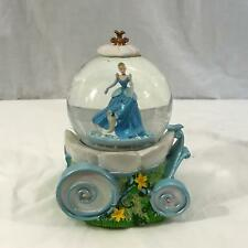 Walt Disney's Cinderella Carriage Musical Snowglobe