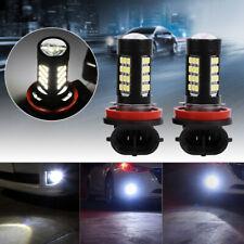 2x H11/H8 42 SMD LED White 2835 Canbus Error Free Fog Light Bulb 8000K
