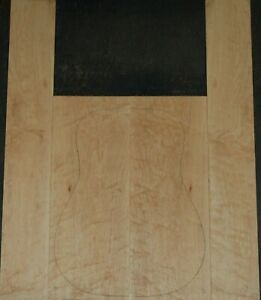 Curly Maple acoustic guitar back and Side set Luthier Tonewood