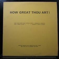 Sacred Heart Catholic Church - How Great Thou Art! LP VG+ S80-404-2558 Record