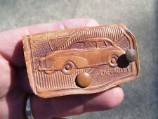 Original 1930s Gm Chevrolet promo key case old auto accessory vintage 1938 1939