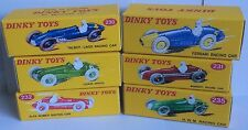 Dinky 230,231,232,235,23G,23H Racing Empty Repro Boxes