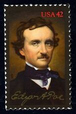 #4377 42c Edgar A Poe, Mint **ANY 4=FREE SHIPPING**