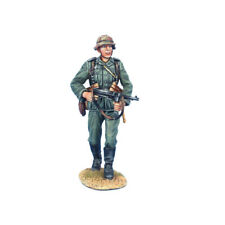 GERSTAL065 German Soldier Walking with MP40 and Helmet Cover by First Legion