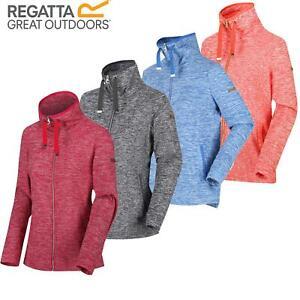 Regatta Ladies Womens Evanna Fleece Jacket Full Zip Up Lightweight Top