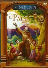 El Padre Pio ( Father Pio ) DVD Historias De Fe Anime BRAND NEW