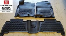 NEW OEM TOYOTA 4RUNNER 2013-2019 & UP ALL WEATHER FLOOR LINER 3-PC SET