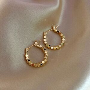 Fashion 18K Yellow Gold Plated Drop Earrings for Women Jewelry Gift A Pair/set