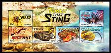2014 Things That Sting - MUH Mini Sheet