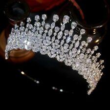 Swarovski Crystal Crown tiara Headpiece Bridal Wedding