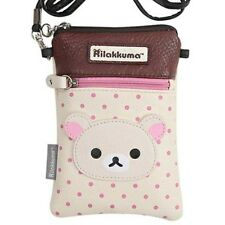 San-X Rilakkuma Pochette Shoulder Bag for DS Cell phone Case White Japan F/S NEW