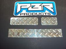 EZ-Go Golf Cart  Diamond Plate 3 Piece  Dash Cover set. Free shipping