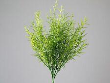 Fiori e piante finte mazzi verde in plastica per la decorazione della casa