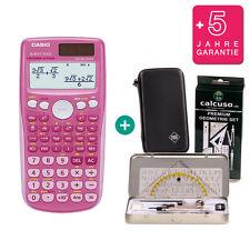 Casio fx 85 GT plus Pink calculadora + funda protectora geometrieset garantía