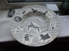 Lot 2,Ridgway Homemaker Cadenza Soup Plate wide rim D 22.6 cm H 3.6 cm 10 motifs