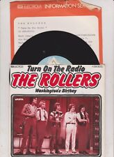 """7 """" THE (BAY CITY) ROLLERS Turn On The Radio 45/GER/LC"""