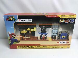 Nintendo Super Mario Deluxe Dungeon Playset - Jakks Pacific - Brand New