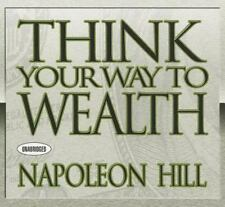 9 CD Napoleon Hill Think Your Way to Wealth  (And Grow Rich)
