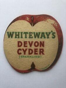 Whiteways Cyder Co Ltd Paignton Devon Inn Cyder Vintage Beer Mat