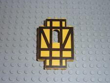 LEGO Panel 2x5x6 with Black Half-Timber Pattern Réf 4444p03 Set 6086/6074/10039