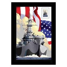 USPS New USS Missouri Framed Stamps