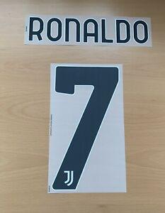 Dekographics Official Adidas Juventus Home 3rd Nameset Print RONALDO 7 2020/21