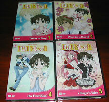 Full Moon O Sagashite Vol 1 3 4 5 New Dvd Animation
