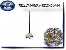 10530 TELLINARO MEZZALUNA CON RETE E MANICO PESCA MARE  CSP